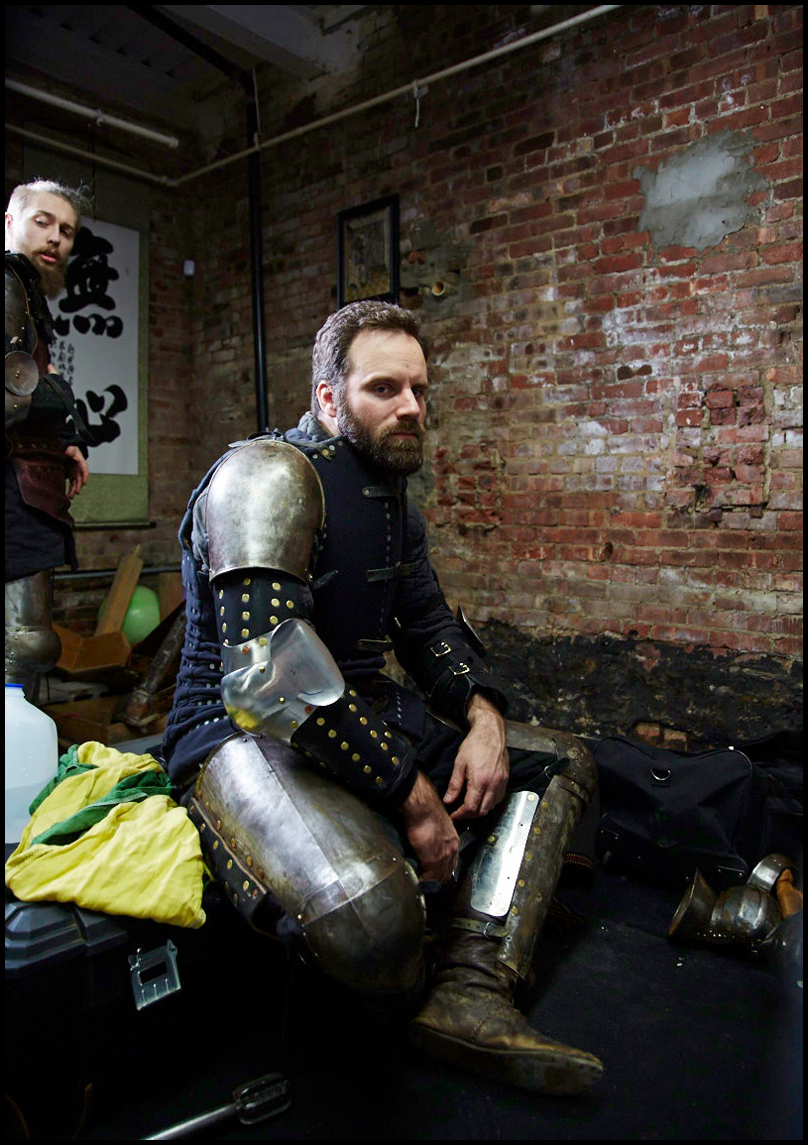 Armored Combat League Portraits NYC
