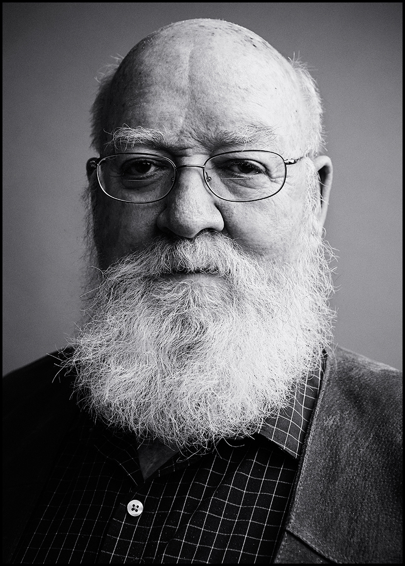 Daniel Dennett  Portrait, Evan Mann Photography