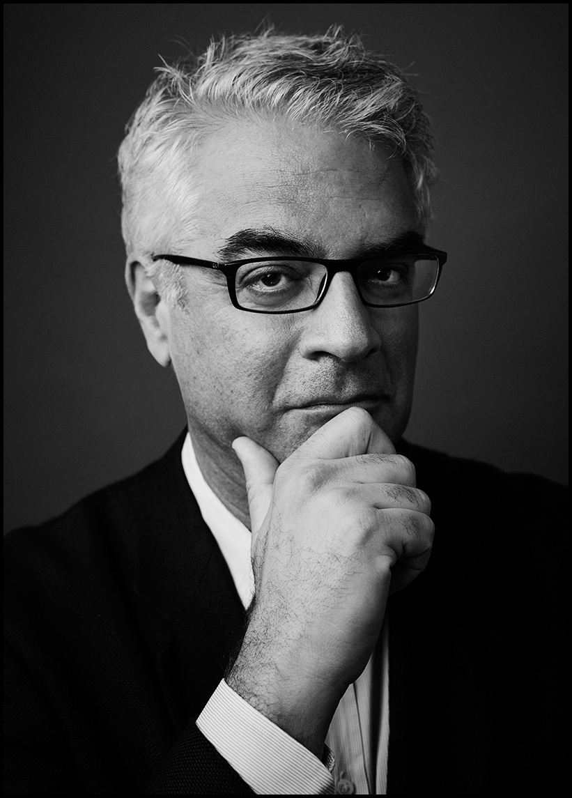 Nicholas Christakis Portrait, Evan Mann Photography