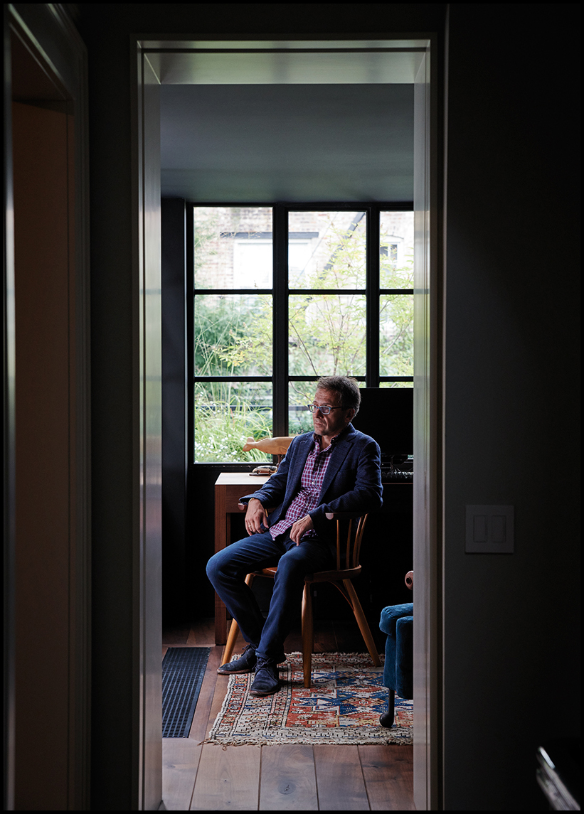 Ian Bremmer Portrait, Evan Mann Photography