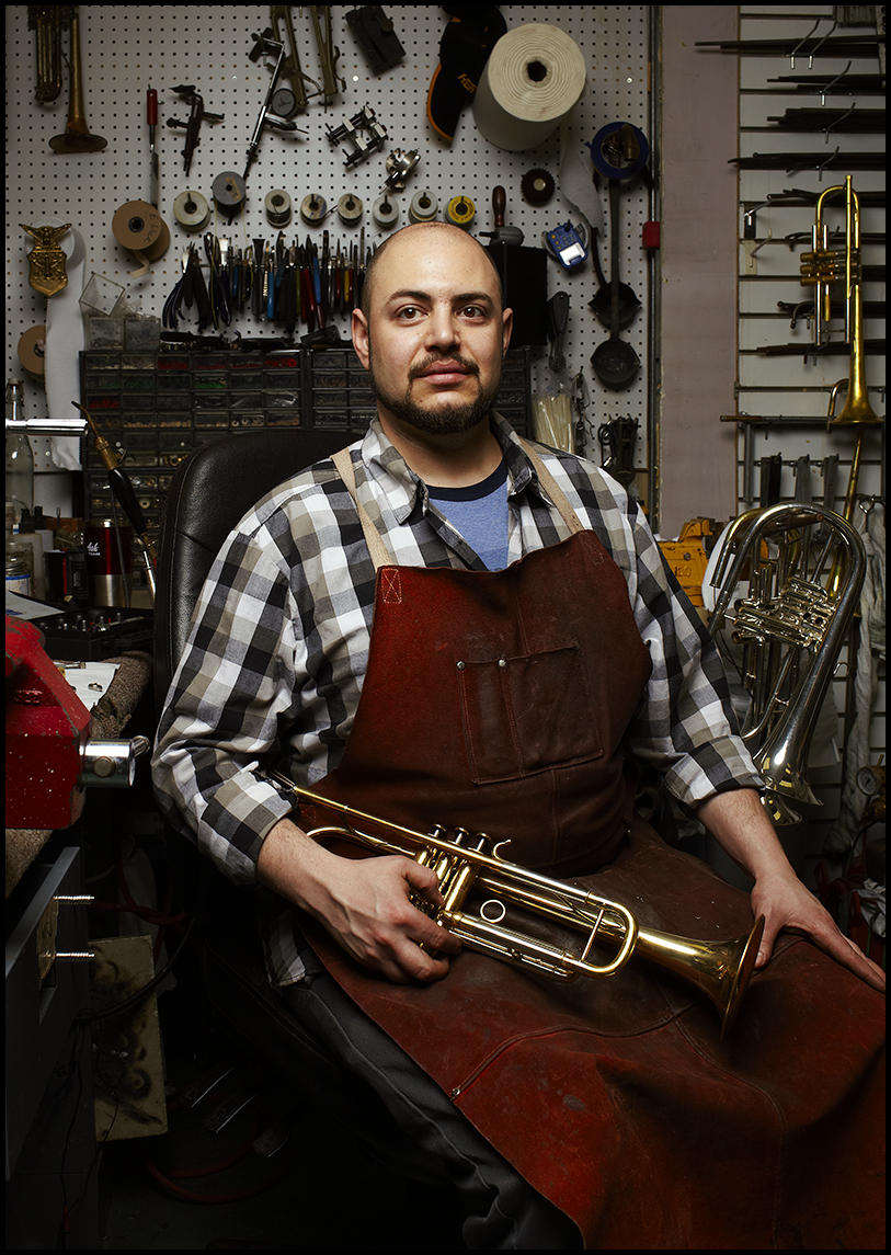 Josh Landress  Brass Maker
