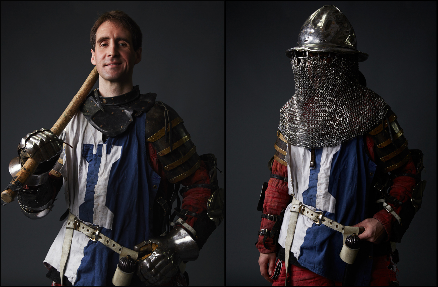 Armored Combat League Portraits NYC, Damion DiGrazia